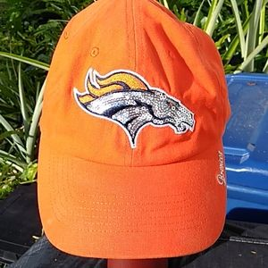 Women's Denver Broncos '47 Brand Sequins ha